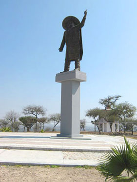 Monument for José Alfredo in la Loma