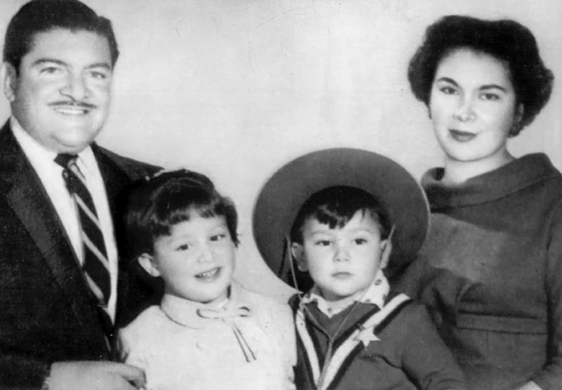 The Jiménez Gálvez family (1959).