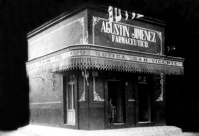 San Vicente Pharmacy (ca. 1920).