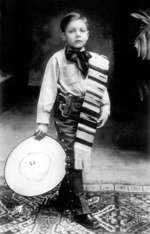 José Alfredo, 7 years old in 1933.