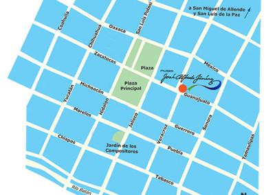 Mapa Dolores Hidalgo